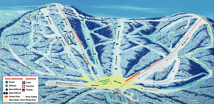 SkiPlattekill2012 trailmap
